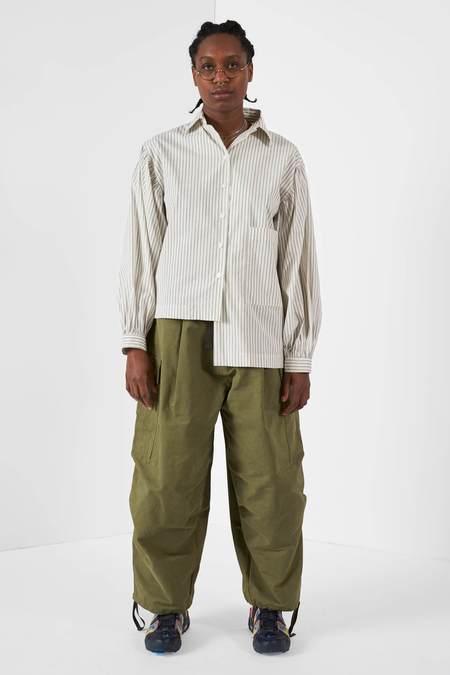 Anglan Cargo Balloon Pants - Khaki