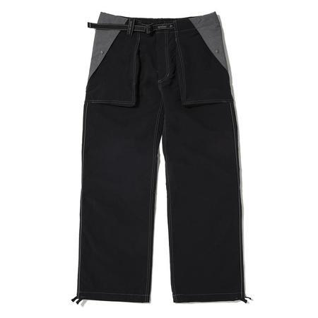 and wander Taslan Nylon Pants - Black