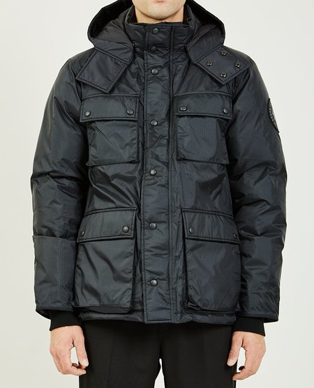 JUNYA WATANABE x CANADA GOOSE QUILTED-DOWN JACKET - BLACK