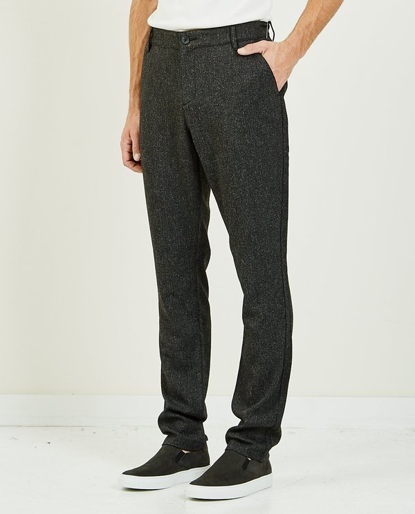 Paige Stafford Trouser - Black Coffee
