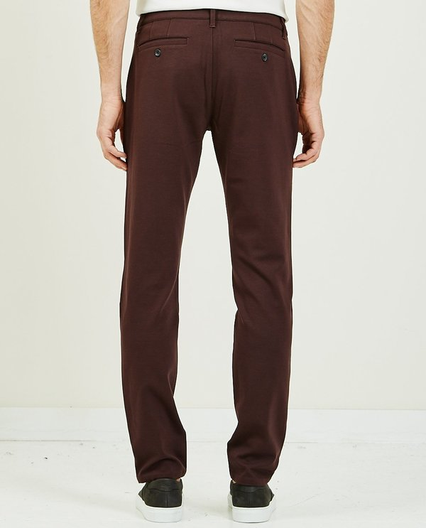 Paige Stafford Trouser - Chocolate Plum