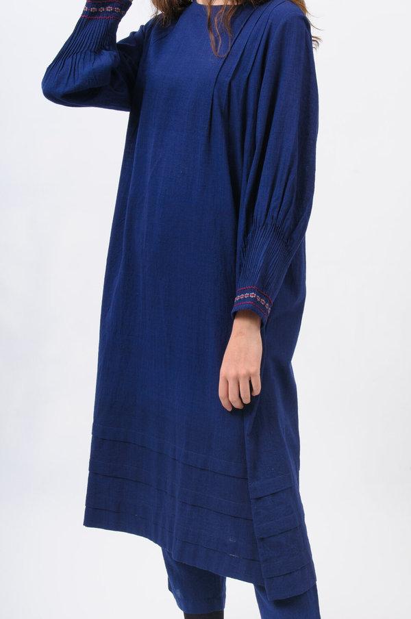 Eka Echo Dress - Indigo