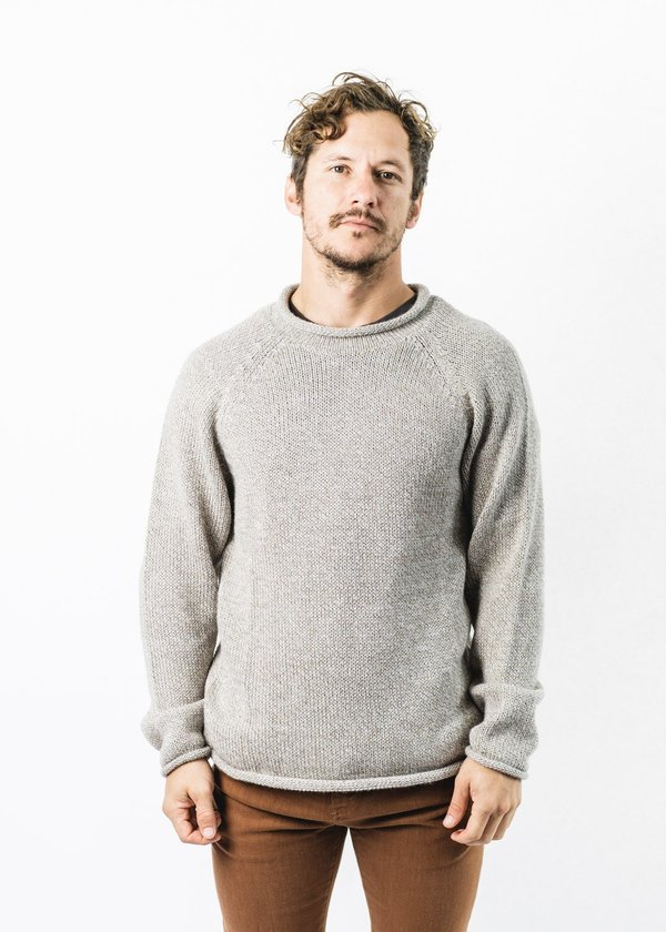 Unisex Mollusk Fisherman Sweater - Natural