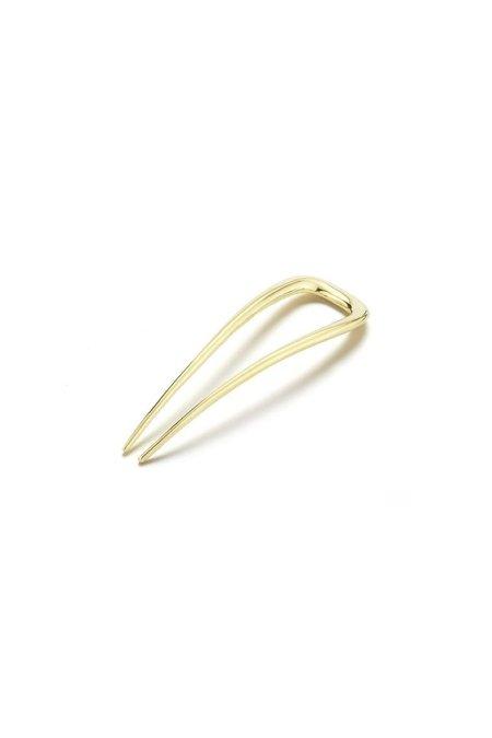 Deborah Pagani Small Sleek Hair Pin - Gold