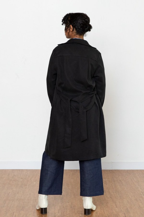 North Of West Ruby Shirt Dress - Black