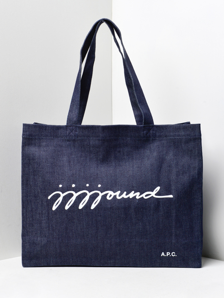 A.P.C. SHOPPING JJJJOUND - INDIGO