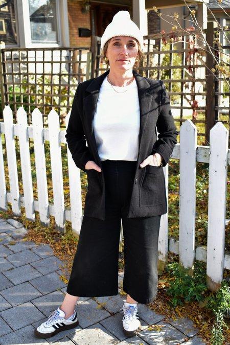 Eve Gravel Living On Video Blazer - Black