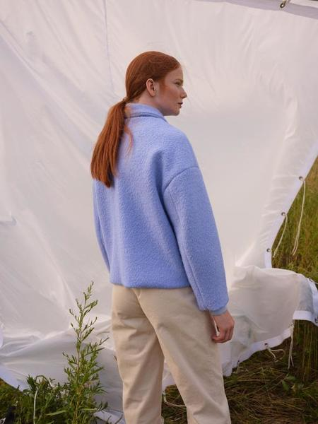 Odeyalo Marconi Coat - Powder Blue