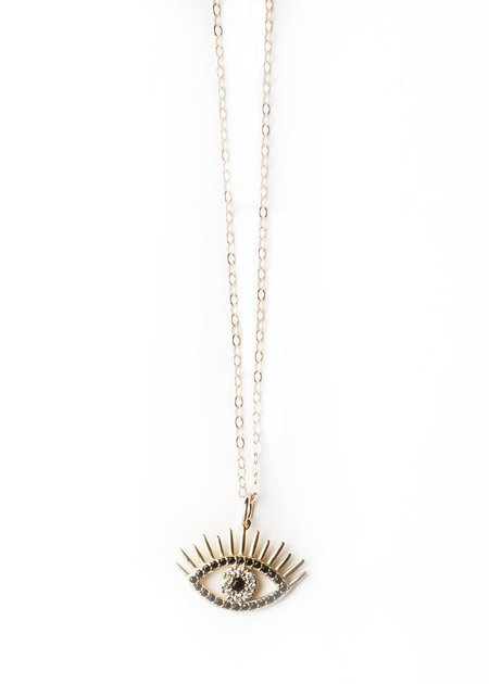 Oneiro All Seeing Eye Necklace - Gold
