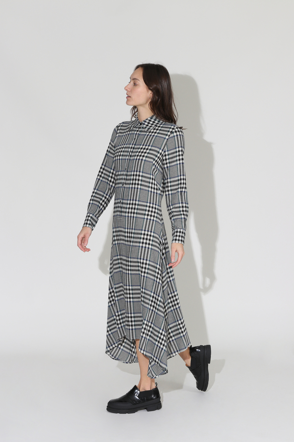 No.6 Campden Dress - Black/Cream