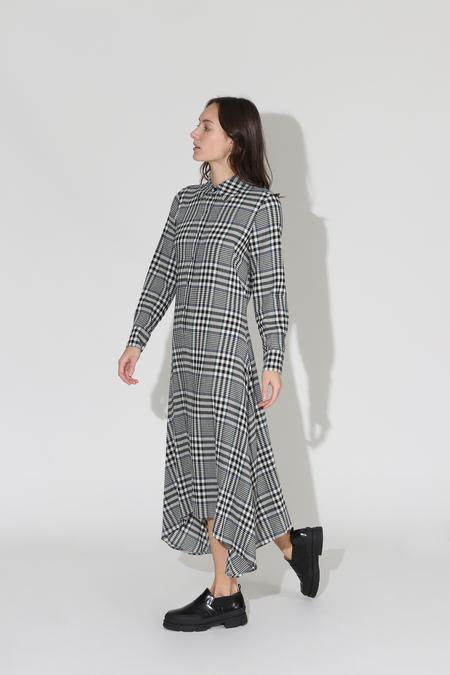 No.6 Campden Dress - Black/Cream
