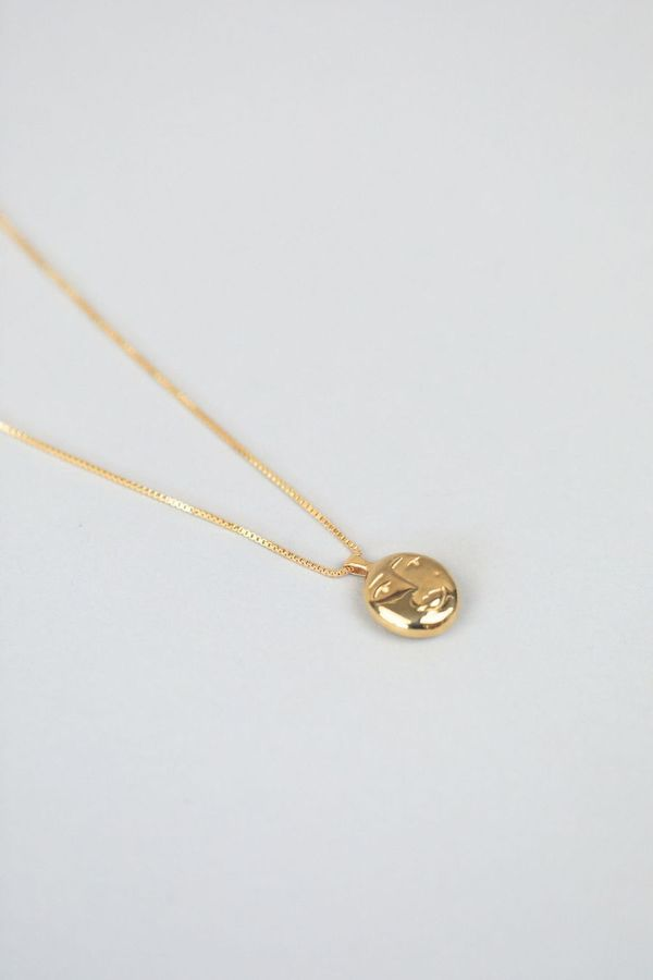 Wolf Circus Evelyn Pendant Necklace - Gold
