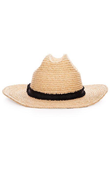 Hat Attack Cabo Hat - Natural/Black