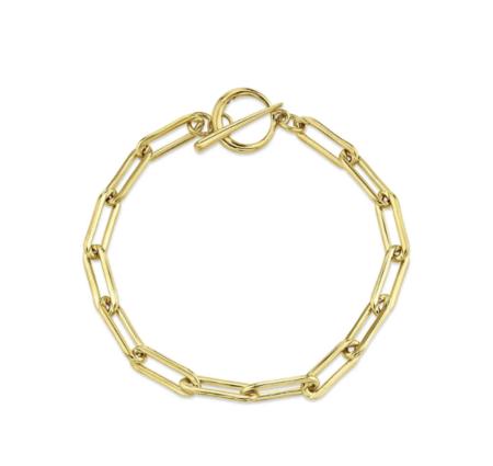 Gabriela Artigas Rectangular Link Bracelet - Gold Filled