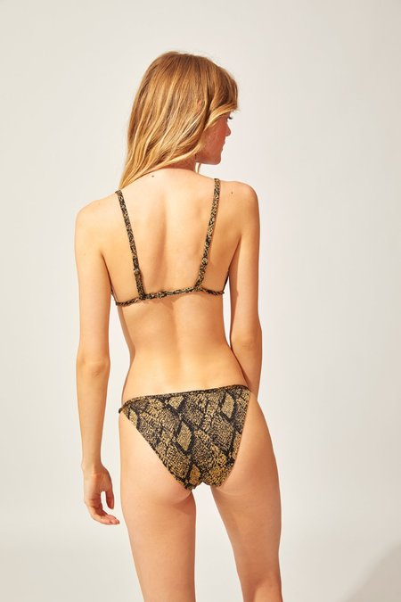 Solid and Striped The Lulu Bottom - Snake Knit