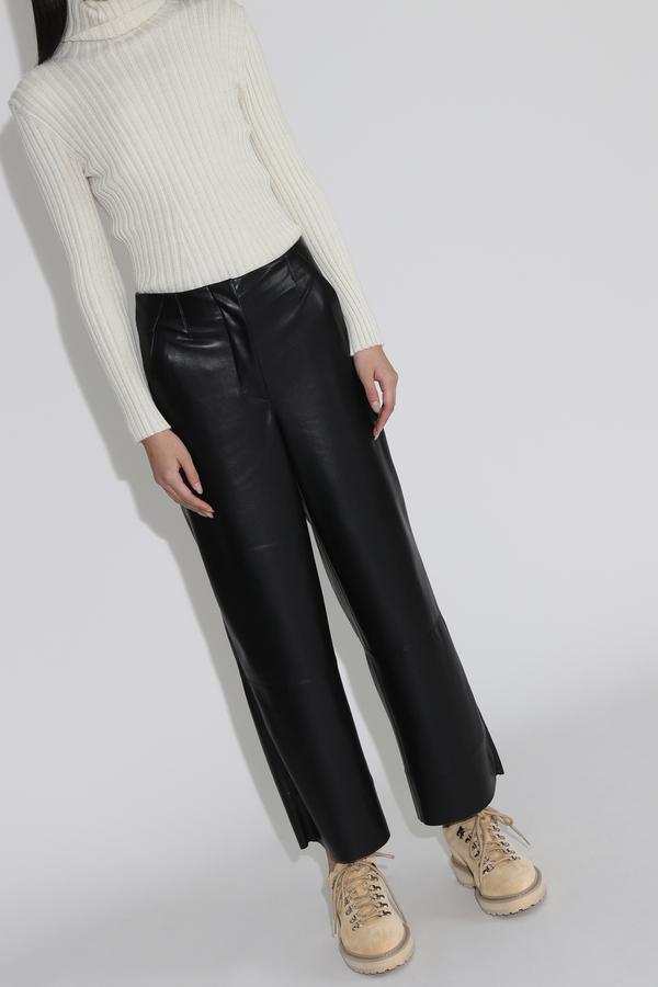 Nanushka Africa Wide Leg Pants - Black