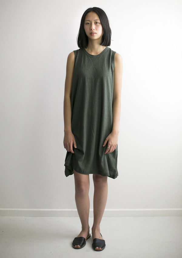 Good Studios Womens Hemp Jersey Aline Dress Garmentory