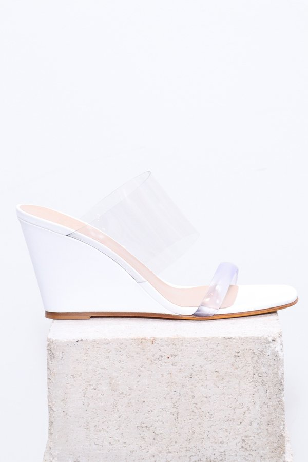 Maryam Nassir Zadeh Olympia Wedge - White