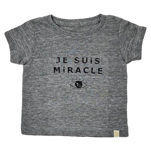 Kids Atsuyo Et Akiko Je Suis Miracle Tri-Blend T-Shirt - Grey