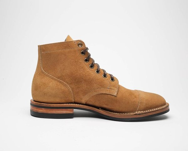 Viberg Service Boot - Faded Wheat Chamois Roughout