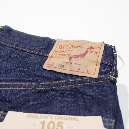 orSlow 105 Selvedge Standard Fit Denim Pant