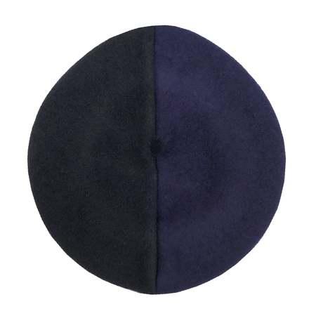 beret freak The Kerosene - black/navy blue