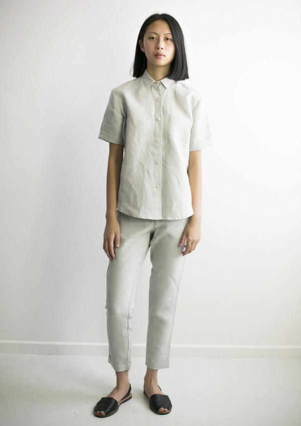 Good Studios Hemp Linen Suit Pant Garmentory