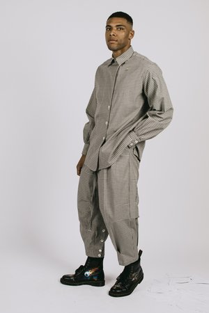 l'equip Umber M86 Trousers - Chocolate Brown