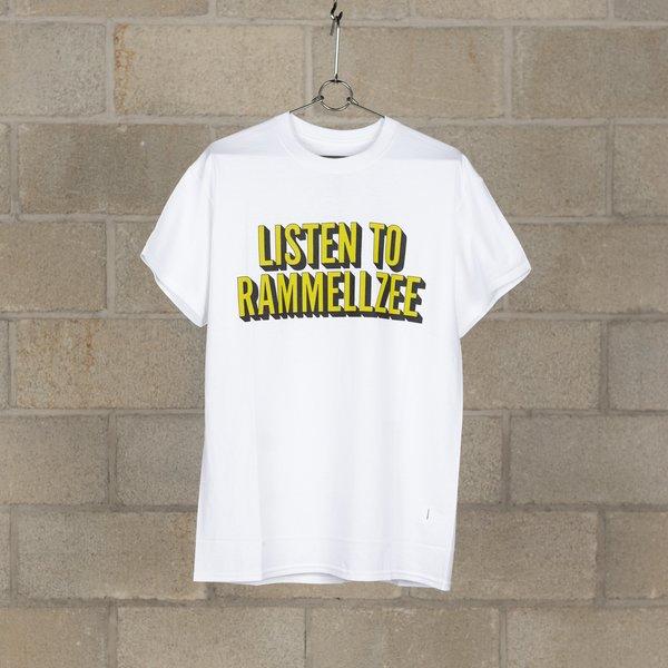 NEXUSVII. Listen To Rammellzee T-Shirt - White/Green