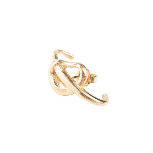Hana kim Mesh Single Ear Hugger - GOLD