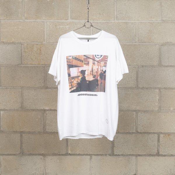 TANG TANG Gasatang Hoodie Taco Girl T-Shirt - White