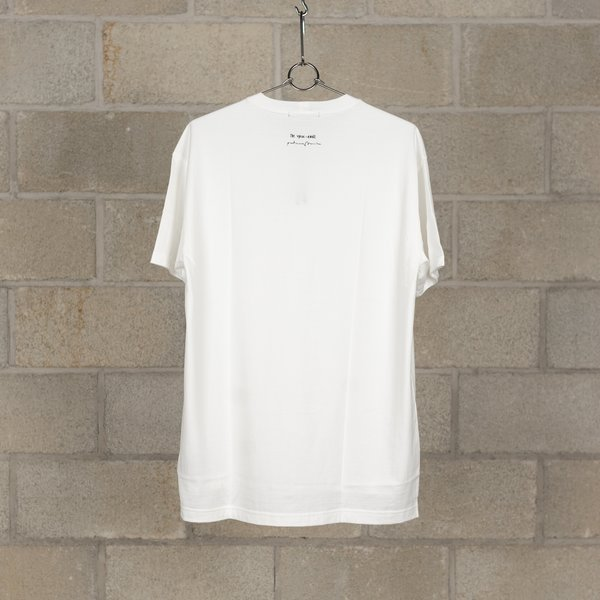 The Viridi-Anne x Patricia March Collaboration Print Short Sleeve T-Shirt - White