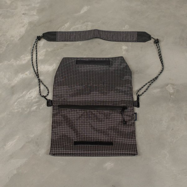 Meanswhile Spectra Sacoche Bag - Off Black