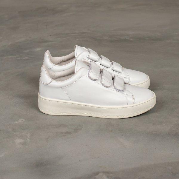 Uniform Experiment SUV Sole Velcro Sneaker - White