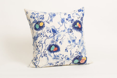 Olivia Wendel Birds Nest Pillow