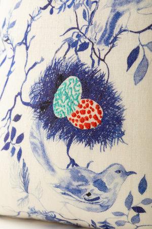 Olivia Wendel Birds Nest Pillow