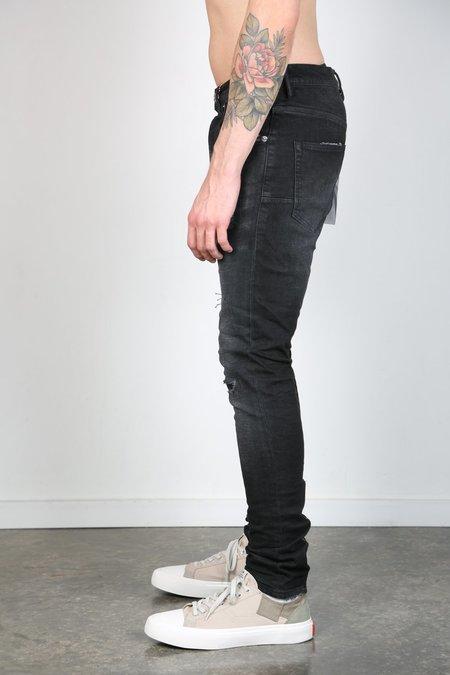 Purple Brand Denim P002 Wash Zip Pant - Black