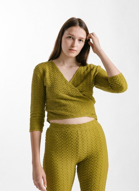 Paloma Wool Bakoy Top - Olive Green