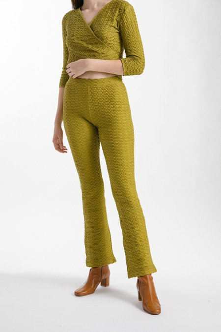 Paloma Wool Komati Pant - Olive Green
