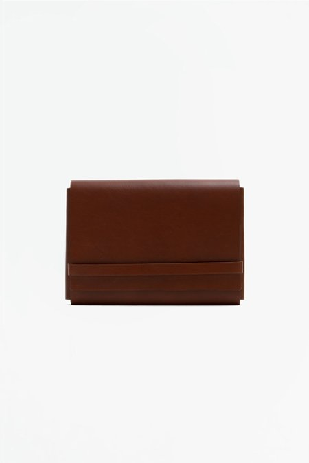 Del Barrio A5 Briefcase - Brown