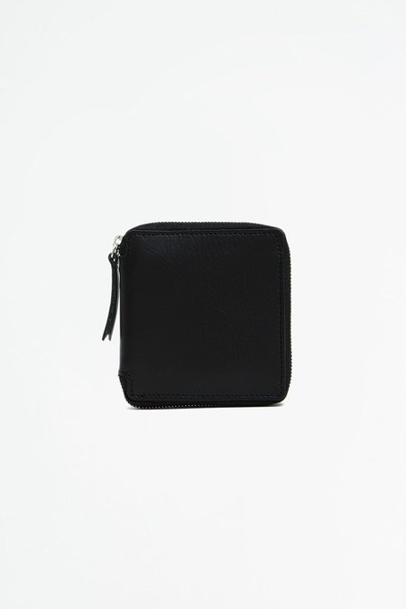 Del Barrio Big Zipped Wallet - Black