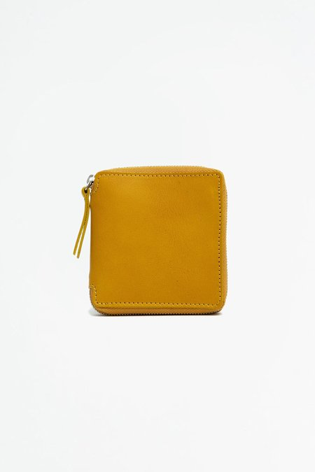 Del Barrio Big Zipped Wallet - Mustard