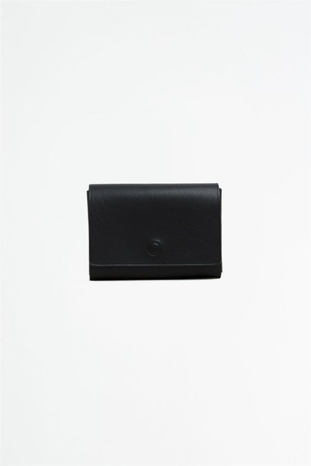 Del Barrio Cardholder with snaps - Black