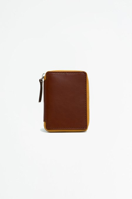 Del Barrio Small Zipped Wallet - Brown