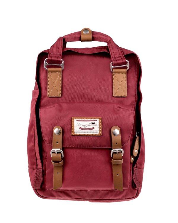 Doughnut Macaroon Backpack - Brick