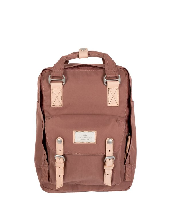 Doughnut Macaroon Mini Backpack - Chestnut