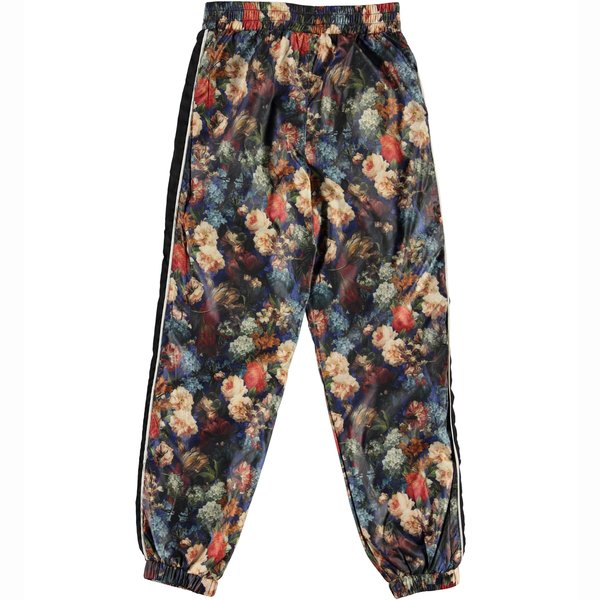 kids molo avery track pants - painted floral