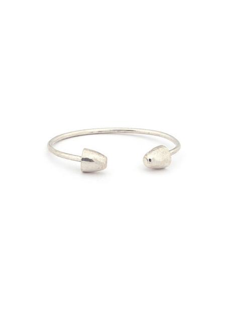 Erin Considine Caril Invert Cuff Silver