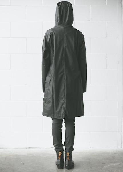 Rains A Jacket in Black