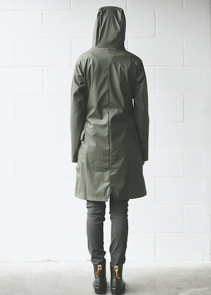 Rains - A Jacket in Green